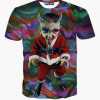 3D Cartoon Print T-Shirt