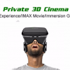 VR bril cinema